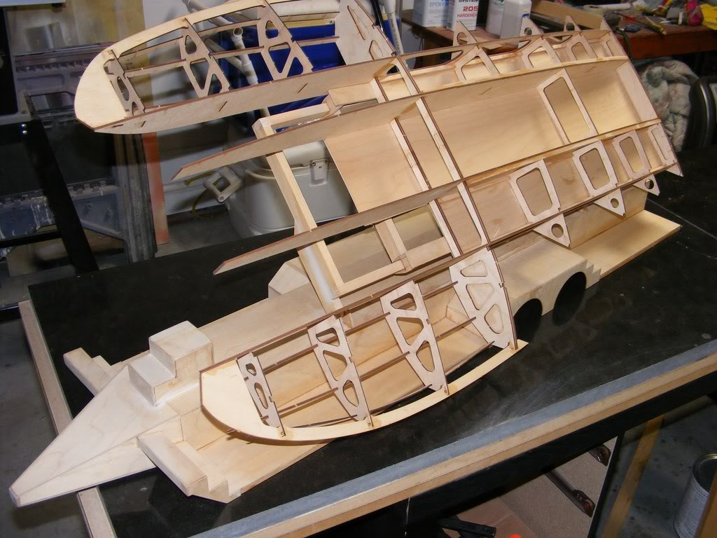 Ml boatworks 1 8th scale hydro 8401 8700 build frame kit for A frame kits for sale